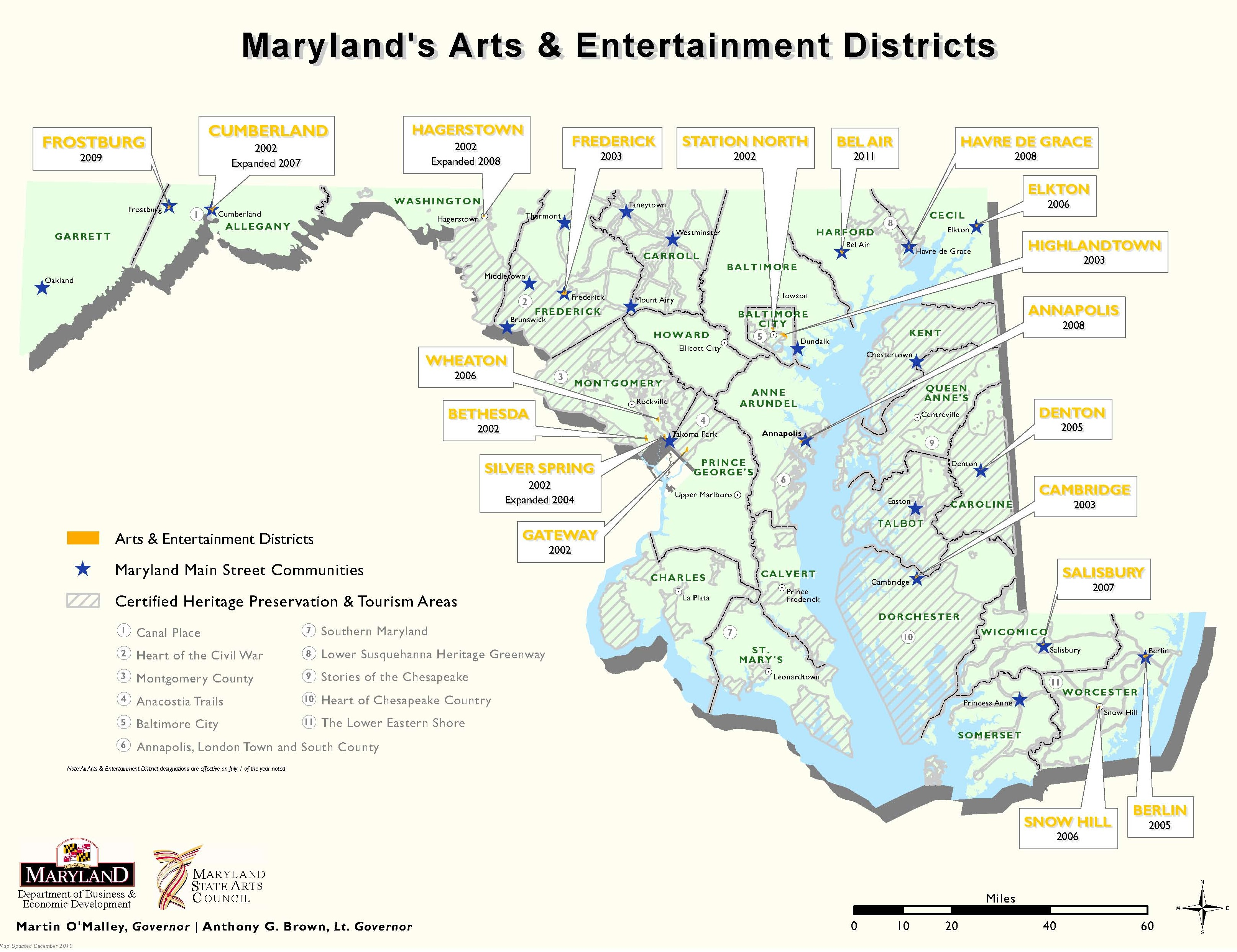 Maryland\'s Arts and Entertainment Districts: how the state program ...